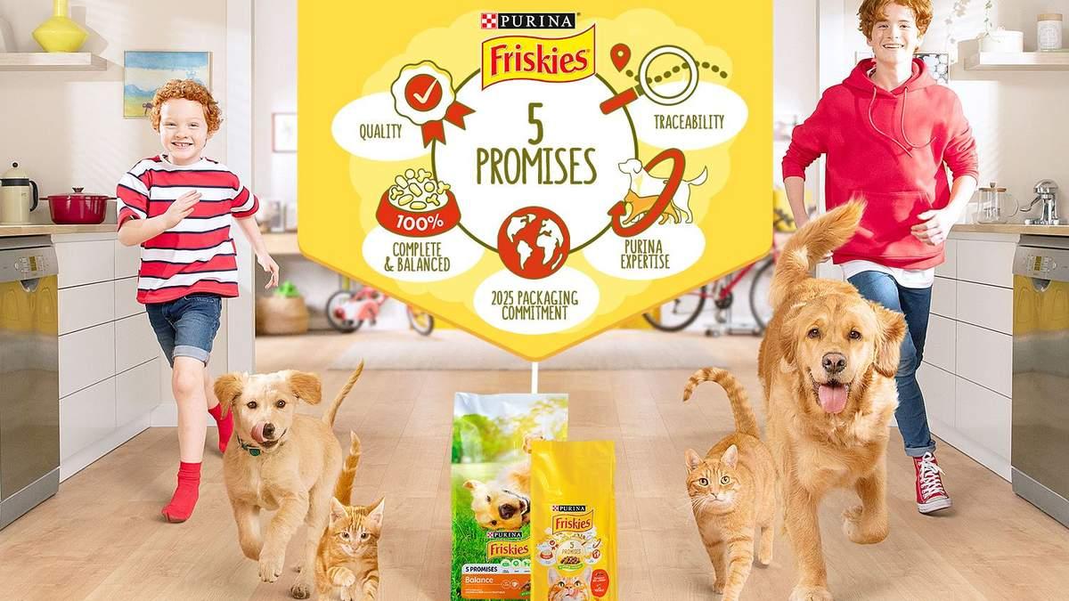 5 гарантій і комунікація з власниками домашніх тварин: як оновили упаковки Friskies® - 17 июля 2021 - Pets