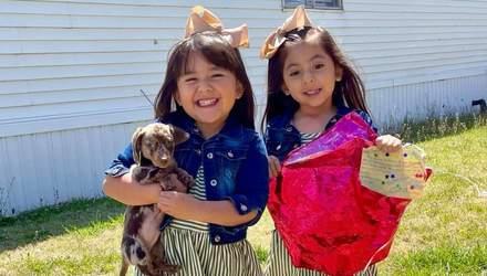 Дети отправили письмо Санте, а незнакомец нашел его и подарил им щенка