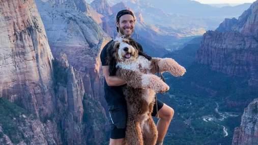 Мандри, від яких перехоплює дух: милий пес Бенджі об'їздив США і працює терапевтом у лікарні