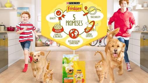 5 гарантій і комунікація з власниками домашніх тварин: як оновили упаковки Friskies®
