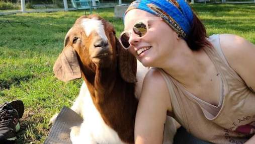 Девушка спасает коз и овец от жестоких хозяев: какой метод использует